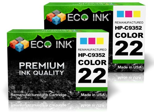 ECO INK © Compatible / Remanufactured for HP 22 C9352AN (...