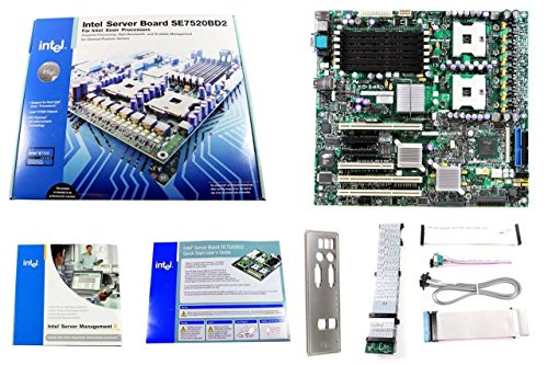 (Intel SE7520BD2SCSI Dual Xeon CPU Processor Socket 604 Chipset E7520 Server Motherboard SE7520BD2 C44686-801)