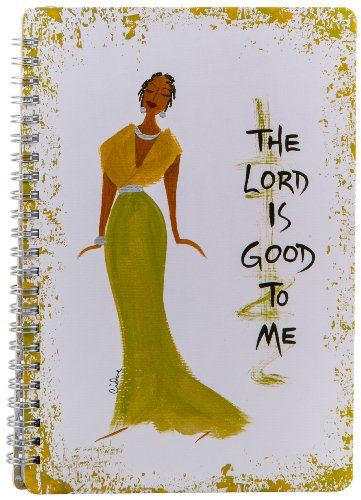 Shades of Color The Lord Is Good To Me Journal, 5.5 x 8.5 Inches, 140 lined pages (J016)