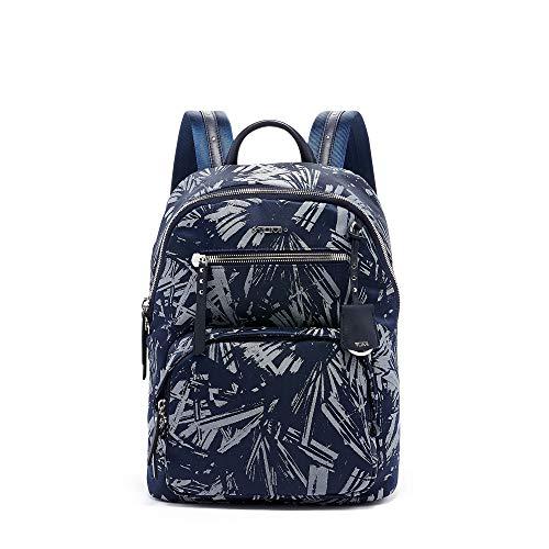 - TUMI - Voyageur Hagen Laptop Backpack - 12 Inch Computer Bag For Women - Blue Palm Print