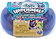 Hatchimals Colleggtibles, Mermal Magic 6 Pack Shell Carrying Case with Season 5 Colleggtibles, for Kids Aged 5 & Up (Color M