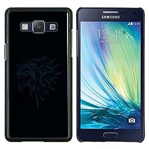 TECHCASE---Cubierta de la caja de protección para la piel dura ** Samsung Galaxy A5 ( A5000 ) 2014 Version ** --Thones Gryphon Head