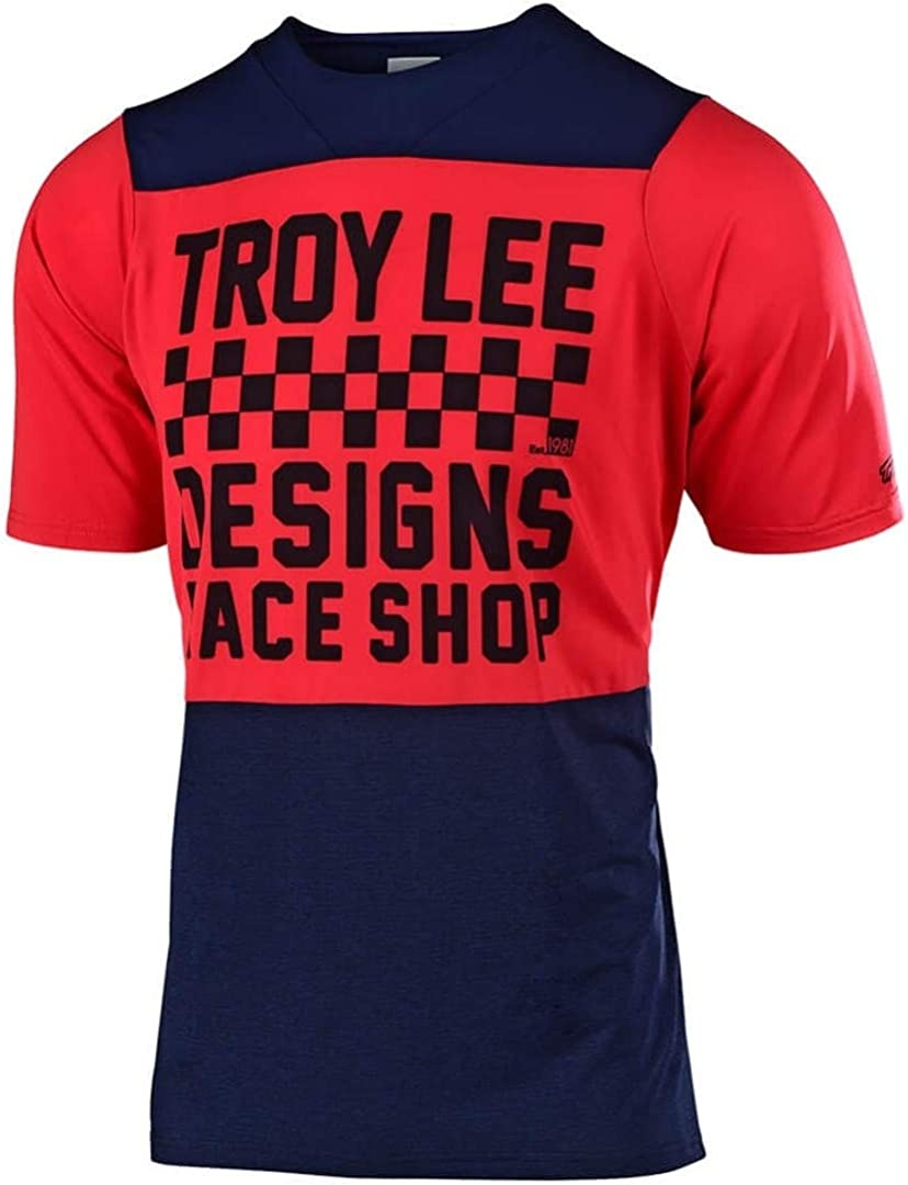 Mens Red Troy Lee Designs Ace Jersey L