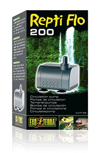 Terrarium Waterfall Reptile (Exo-Terra Repti-Flo 200 Circulating Pump)