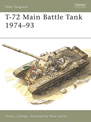 T-72 Main Battle Tank 1974–93 (New Vanguard) ()
