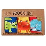 Zoocchini Boys 3 Piece Organic Training Pant Set-Ocean Friends (3T-4T), Multi