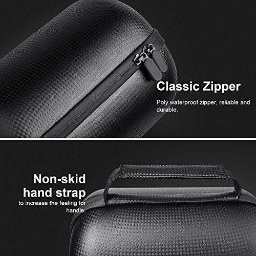 HomePod Travel Case, Carry Bag With Holding Strap Drop, Protection Dust Cover Shockproof Carrying Case For Apple HomePod Speaker (Black) by BESTAND (Image #1)