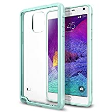 Spigen Ultra Hybrid Galaxy Note 4 Case with Air Cushion Technology and Hybrid Drop Protection for Samsung Galaxy Note 4 2014 - Mint