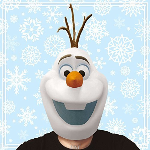 Disney Frozen Costume - Frozen Olaf Mask - Adult One -