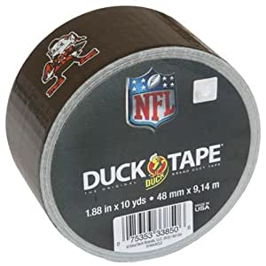 Duck Brand 281542 Cleveland Browns NFL Team Logo Duct Tape, 1.88-Inch by 10 Yards, Single Roll