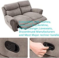 Sofa Recliner Release Pull Handle Universal Chair Couch Cable Lever Easy-Install