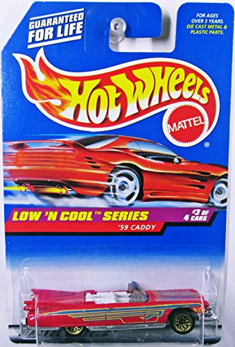 Hot Wheels 1998-699 '59 CaddY 1959 Low'n Cool Series 3 of 4 1:64 Scale