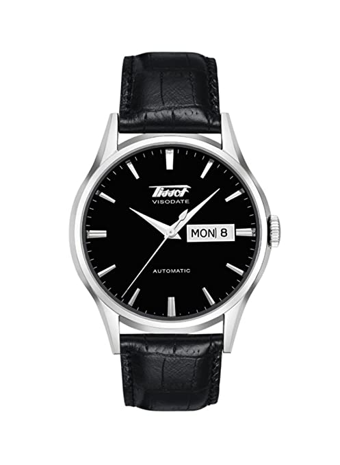 Tissot Men's Visodate Automatic Black Watch