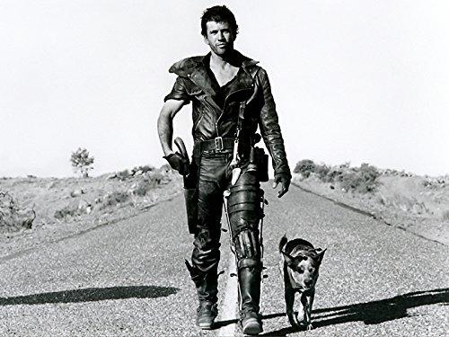 Mad Max Road犬Mel Gibson古いヴィンテージムービー32 x 24プリントポスター