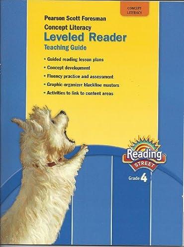 pearson scott foresman concept literacy leveled reader teaching rh amazon com pearson scott foresman leveling guide grade 3 pearson scott foresman leveling guide grade 2