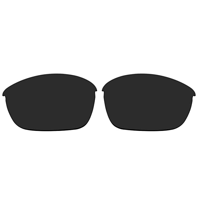 193fb5e08e ACOMPATIBLE Replacement Polarized Lenses for Oakley Half Jacket 2.0  Sunglasses OO9144 (Black)
