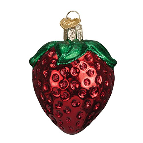 Old World Christmas Strawberry Ornament product image