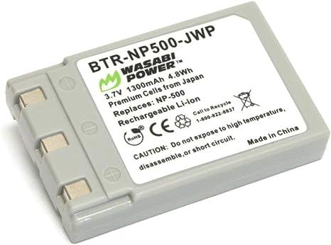 Premium batería cargador Charger para konica digital revio KD 420z 500z 510z