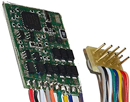 Viessmann 5245 h0 lokdecoder con interfaz conector 8 polos