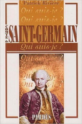 """Lire un """"Qui suis-je?"""" Comte de Saint-Germain pdf"""