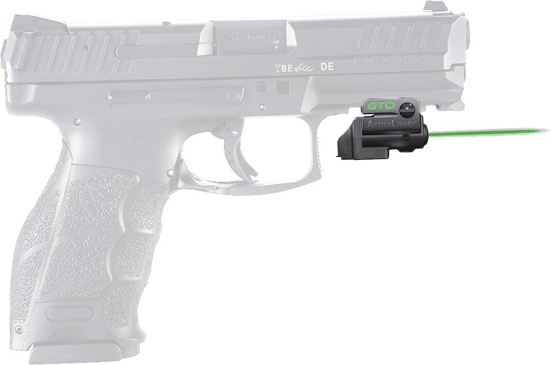 Amazon Com Armalaser Designed To Fit Hk Vp9 Gto Green Laser Sight And Flx55 Grip Switch Sports Outdoors