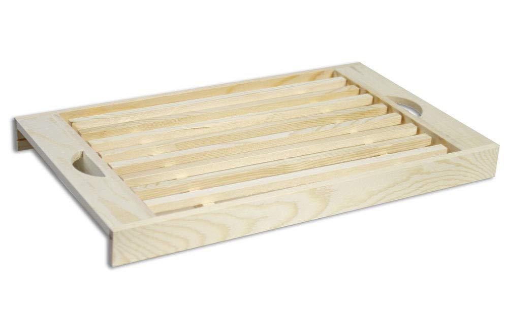 38,5 x 22 x 13 in bamb/ù//Scatola del Pane a 2 Pezzi Gr/äfenstayn/®Scatola del Pane con Tagliere Integrato Come Coperchio