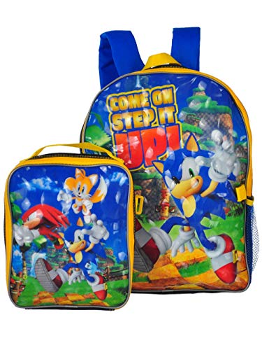 Backpack Sonic - Sonic the Hedgehog Backpack and Lunchbox - blue/multi, one size