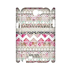 Aztec Tribal Pattern Unique Design 3D Samsung Galaxy Note3 ,custom cover case ygtg537923