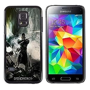 Samsung Galaxy S5 Mini (NOT for S5) / Galaxy S5 Mini Duos , Radio-Star - Cáscara Funda Case Caso De Plástico (Dishonor Gaming Hero)