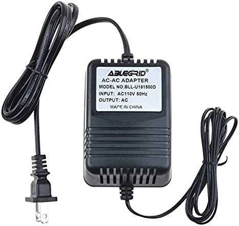 AC to AC Adapter for Vestax AC-14-US AC-14 1806-3852-1 180638521 ITE Power Cord