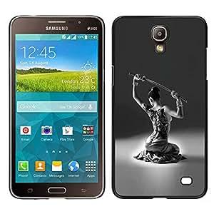 [Neutron-Star] Snap-on Series Teléfono Carcasa Funda Case Caso para Samsung Galaxy Mega 2 [Dancer Sword Carnie Sexy Woman Girl]
