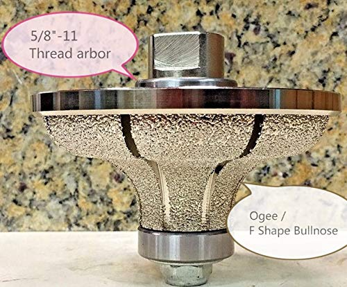 Diamond Ogee Bullnose Router Bit Profile Grinding Shaping Wheel 3/4