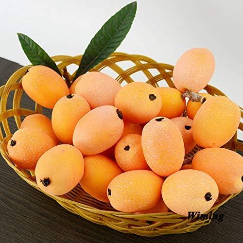 Deanyi Simulation Alimentaire mod/èle Artificiel Fruit Simulation n/éflier d/écor /à la Maison d/écoration armoires de Magasin Magasin de Fruits Articles de f/ête de f/ête des Props de Fruits Faux pour Ki