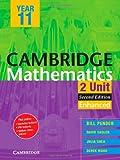 Cambridge 2 Unit Mathematics Year 11 Enhanced Version, William Pender and David Saddler, 1107679575