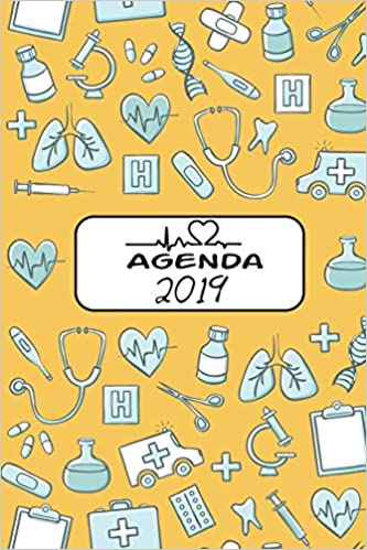 Agenda 2019: Agenda Mensual y Semanal + Organizador I ...