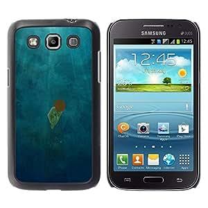 Be Good Phone Accessory // Dura Cáscara cubierta Protectora Caso Carcasa Funda de Protección para Samsung Galaxy Win I8550 I8552 Grand Quattro // Scattered Light Diving Deep Girl