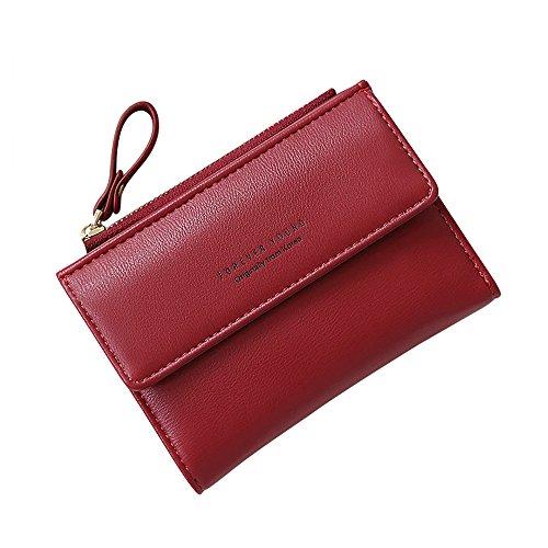 JESPER Women RFID Blocking Soft Leather Wallet Credit Card Clutch Large Travel Purse Wristlet