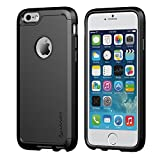 iPhone 6S Plus Case, LUVVITT® ULTRA ARMOR iPhone 6 Plus Case [LIFETIME WARRANTY] Double Layer Shock Absorbing Black iPhone 6 Plus Cover   Best iPhone 6S Plus Case for 5.5 inch Screen - Black / Black