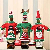 AstiVita Christmas Wine Bottle Cover Set 6 Pack