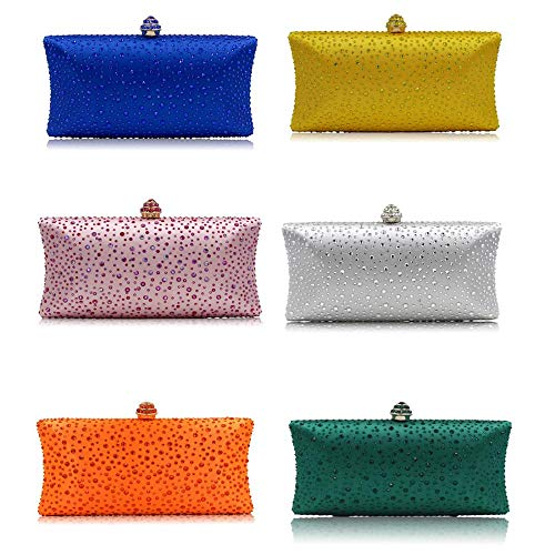 Shoulder PU Bag Rose Party Evening Clutch with Women Rhinestone Decoration Bags Bag Leather Handbag 6zqxnpgI