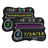 First and Last Day of School Photo Sharing Chalkboard Signs; The Perfect Back to School Chalkboard Sign to Commemorate The First Day of School