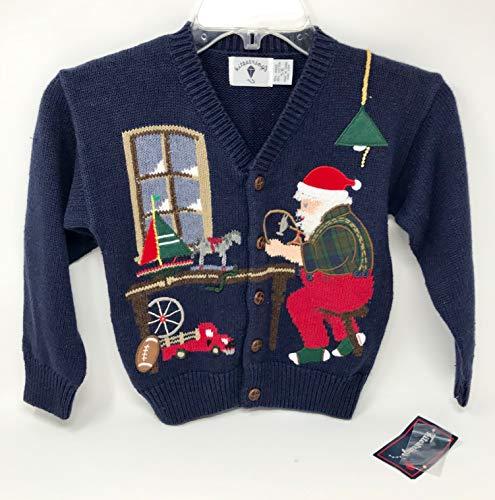 Hartstrings Girls 5/6 Christmas Santa Sweater