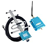 Phonelex 62dB 850MHz 3G GSM CDMA Cell Phone Signal Booster Repeater Mobile signal Amplifier with 2 Antennas for Home/Office Use