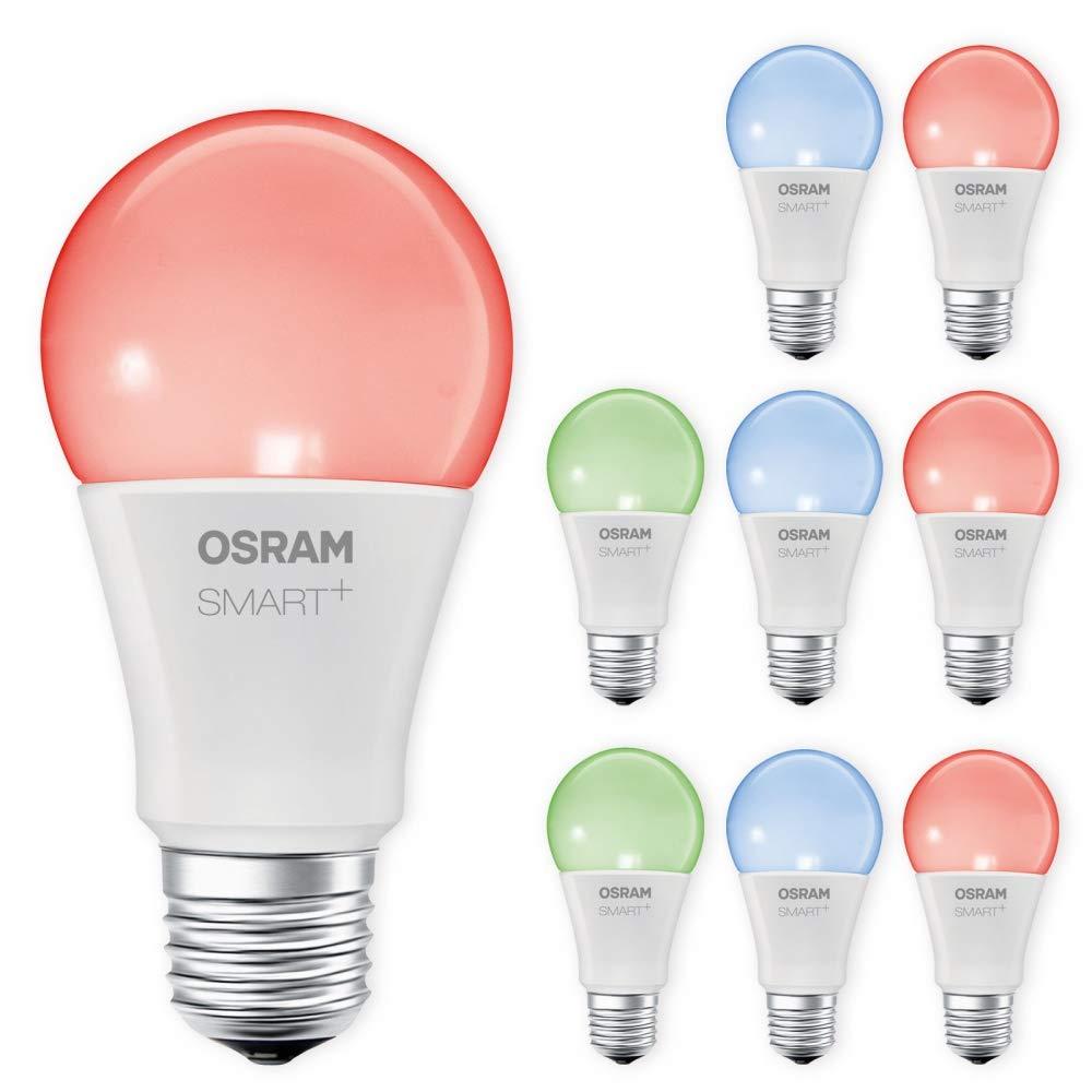 OSRAM SMART+ LED RGBW E27 10W 60W RGB ZigBee Lightify Echo Alexa kompatibel Auswahl 9er Set