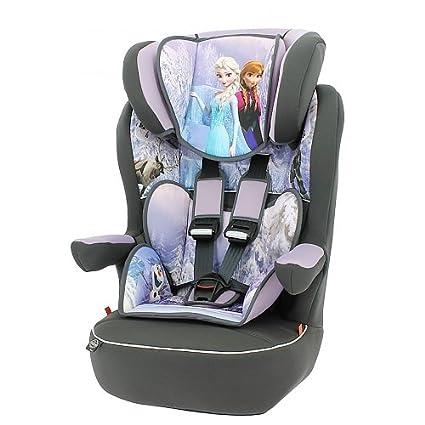 Mycarsit - Asiento elevador para niños Disney (para automóvil) - Grupo 1/2/3 (para niños de 9 a 36 kg, con diseño de la película «Frozen» (Disney)