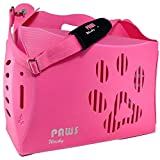 Wacky Paws ECO Pet Carrier, V1, Small, Pink