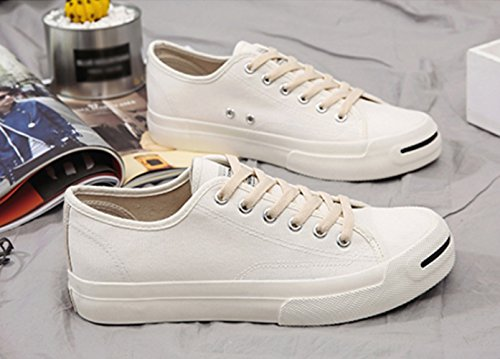 da scarpe studenti amanti selvaggi Scarpe di marea WFL uomo tela del scarpe vento bianca 7xI4qnHSW