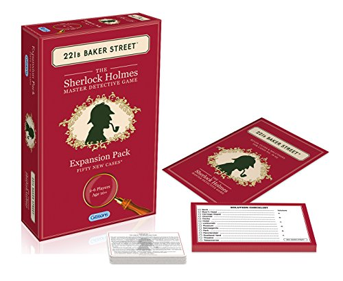 - Gibsons 221B Baker Street Expansion Pack (50 new cases)