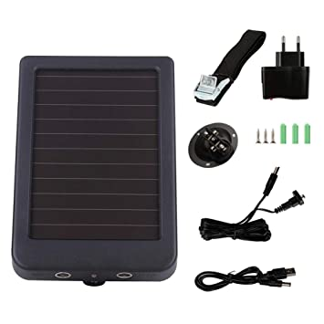 benignpoet Cargador Solar, Batería Externa Portátil para ...