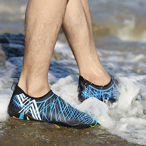 Homme Sport Plongée 1 Pour Femme Plage Bleu Chaussons Katliu De Natation D'eau Chaussure Enfant Piscine Aquatique qRYZwxtS7